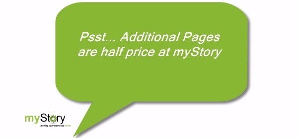 Additional Pages Half Price!
