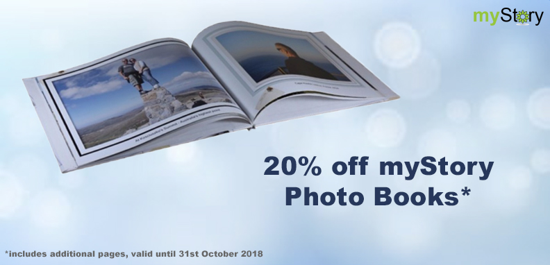 Celebrate our birthday with 25% off Photo Books!*